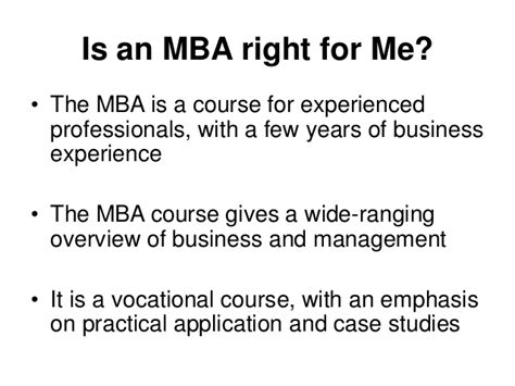 7 Years Of Experience Mba by 3 Reasons Why You Should Do An Mba