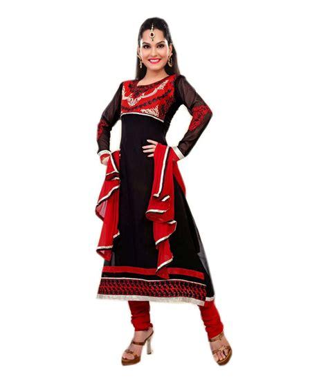 Dm Black dm black and cotton designer embroidered dress