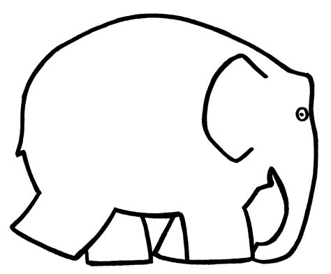 Elmer The Elephant Template by Image Gallery Elmer Template