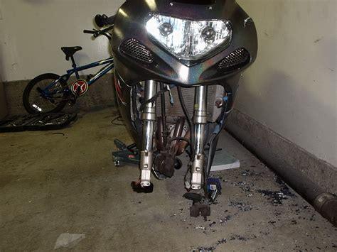 Motorrad Gabel Verbogen by Bent Motorcycle Frame Frame Design Reviews