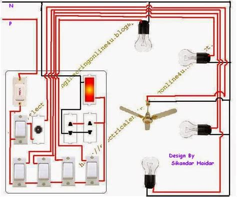 how to wire a house for cable how to wire a room in home wiring electrical online 4u