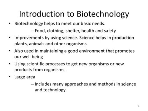 brief introduction about biotechnology introduction to animal biotechnology