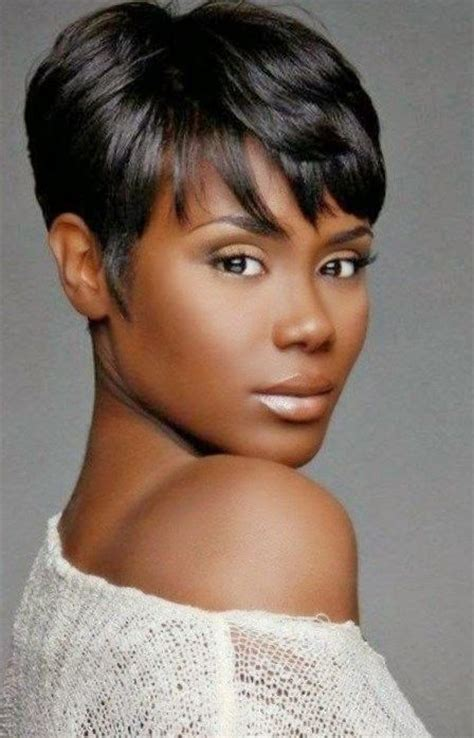 short cut for black americann black hairstyles short 2017