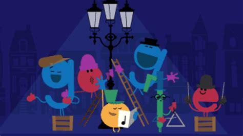 doodle de hoy 17 de diciembre nos desea felices fiestas homenajeando al