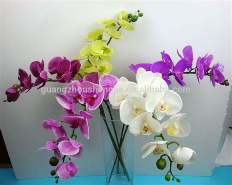 Artificial Plant Decoration Home Sjh011134 Singapore Orchid Flower Decorative Artificial
