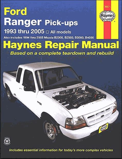 old cars and repair manuals free 1993 mazda 626 parental controls ford ranger repair manual includes mazda pickups 1993 2011 haynes