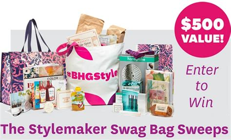 Home And Garden Giveaway 2015 - better homes and gardens 2015 stylemaker gift bag sweepstakes sweepstakesbible