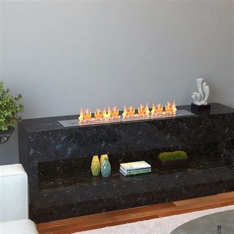 regal pro 36 inch bio ethanol fireplace burner