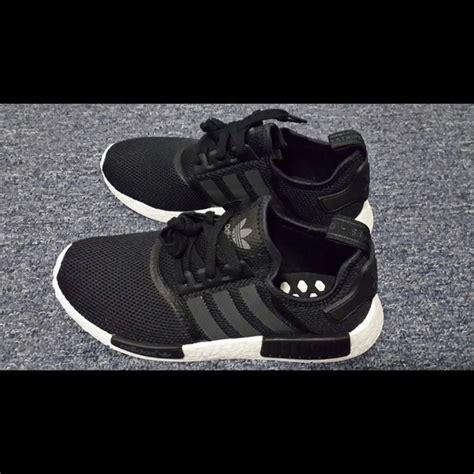 Nike Adidas Nmd 35 nike shoes adidas nmd r1 monochromatic black