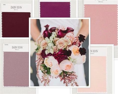 davids bridal colors david s bridal colors clockwise from top sangria ballet