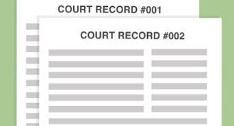 Find Court Records How To Unseal Court Records With Pictures Wikihow