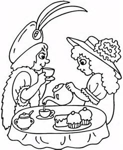 tea coloring pages coloring tea coloring pages