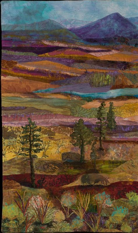 Landscape Quilt by Landscape Quilts Susan Strickland S Landscape Quilt