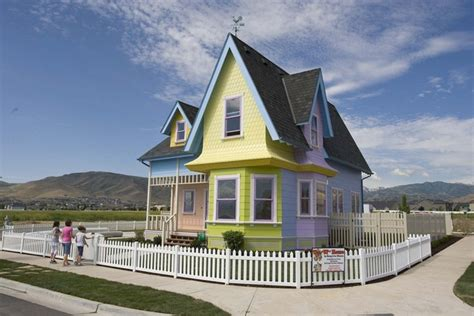 house up up house in utah does not have to be repainted gets to keep its colors