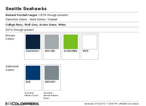 what are the seahawks colors seattle seahawks pantone colors seattle seattle seahawks