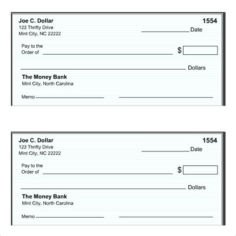 Cheque Templates Html Autos Post Check Template Word
