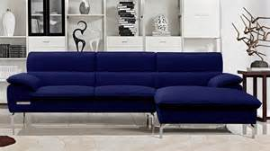sapphire blue sectional set with chaise zuri furniture