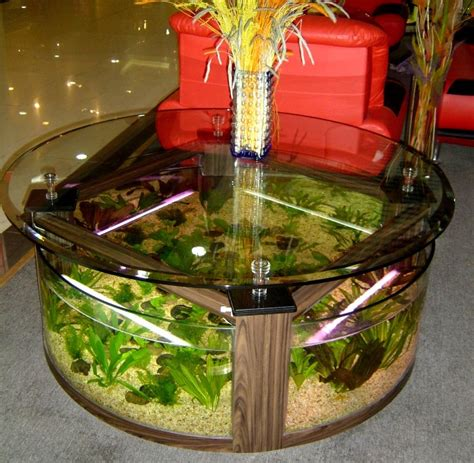 11 Exles Of Aquarium Coffee Tables Coffee Table Review Fish Tank Living Room Table