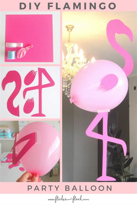 Ls5880 Flamingo Balloon Top 2 diy flamingo balloons flicker flock