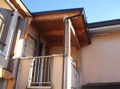 tettoie in legno per balconi civer snc 187 tettoie per terrazzi
