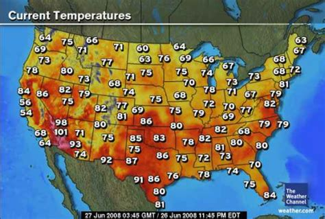 current temperature map color and temperature perception is everything watts up with that