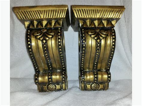 drapery corbels corbels bookends curtain rod holders wall sconces black