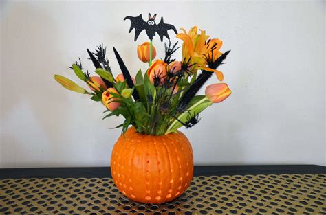 diy glowing pumpkin vase warfieldfamily