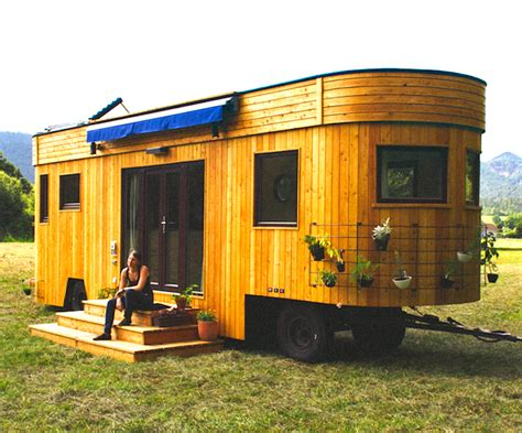 eco friendly tiny house wohnwagon an eco friendly tiny house from austria