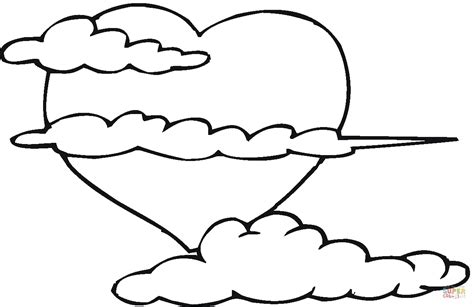 Big Coloring Pages by Big In The Clouds Coloring Page Free Printable