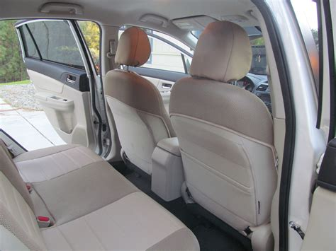 subaru crosstrek seat covers subaru xv crosstrek front and rear mix leatherette