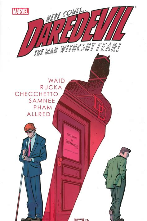 daredevil by mark waid volume 4 by mark waid samnee mike allred paperback barnes slings arrows