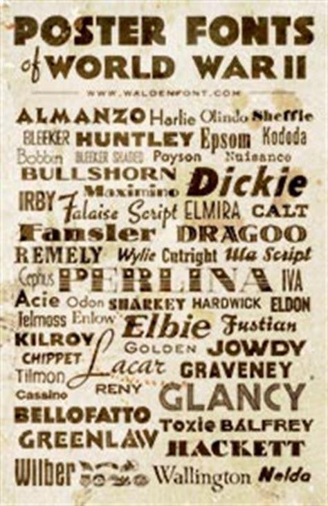 american poster fonts of world war ii volume 1: american