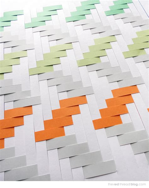 How To Make A Paper Weave - tutorial how to make a paper weaving artwork we are scout
