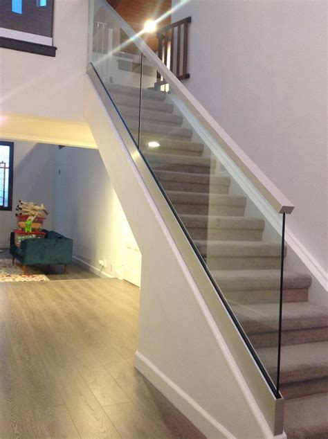 top ten staircase window glass railings orange county local glass screen irvine ca