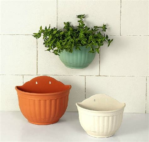 planters that hang on the wall aliexpress com buy flower pots wall hanging high