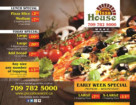 pizza house number contact us pizza house