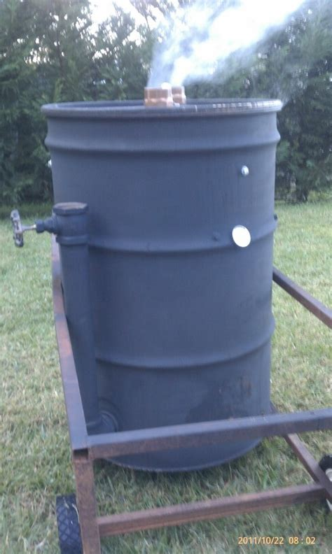 building pit drum 25 best images about drum smoker uds on building stainless steel and spare ribs