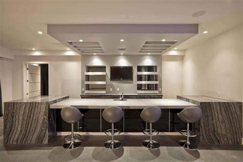 modern bar ideas for basements contemporary basement best home decoration world class