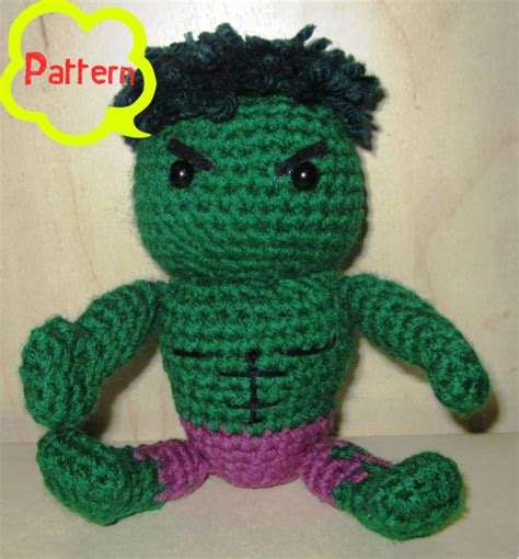 amigurumi hulk pattern pattern crochet the incredible hulk amigurumi