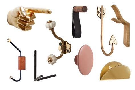 Wall Hook 9 fabulous wall hooks to hang your hat and coat and