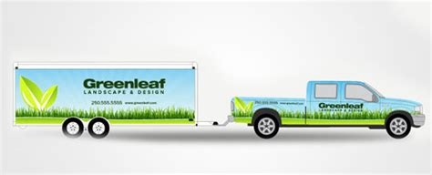 Designing Vehicle Wraps In Adobe Illustrator The Sign Pad Trailer Wrap Design Templates
