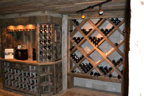 custom reclaimed wine cellar cabinets rustic furniture