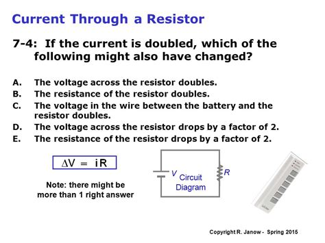 what happens to current through a resistor if the current through a resistor is doubled what happens to the power 28 images current and