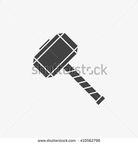 thor hammer clipart free clipart