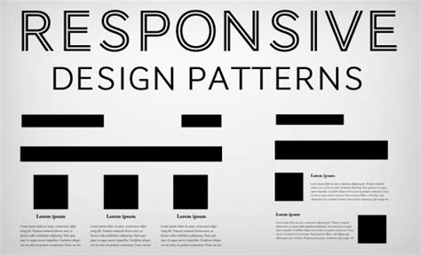 css layout design patterns 5 really useful responsive web design patterns design shack