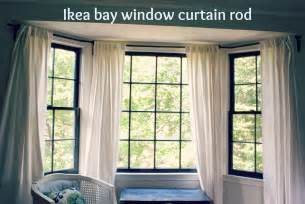 Bay Drapery Hardware Curtain Rods For Bay Windows Homesfeed