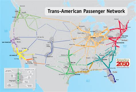 railway map of usa high speed rail the right of infrastructure