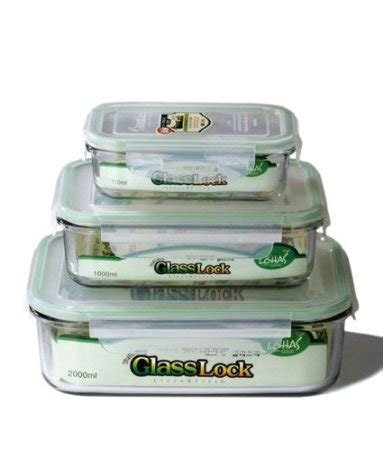 glass storage containers with locking lids buy kinetic glasslock series 01317 rectangular glass food