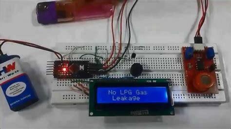 arduino based lpg gas detector