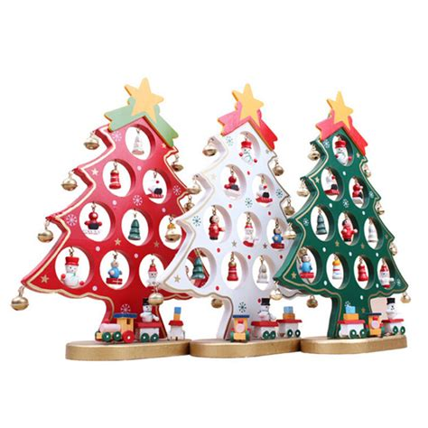 best christmas gift wooden artificial christmas tree